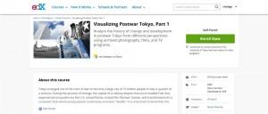 Visualizing Postwar Tokyo, Part 1 edX
