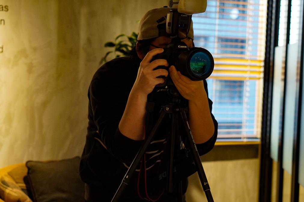 動画撮影の模様2