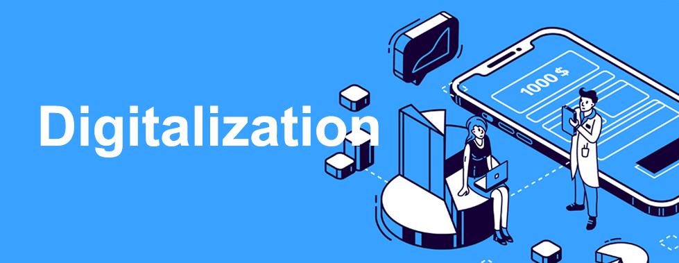 Digitalization:はたらくのデータ化